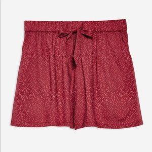 Topshop Polka Dot Spot Shorts